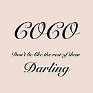 Coco Darling by MarleyArt123