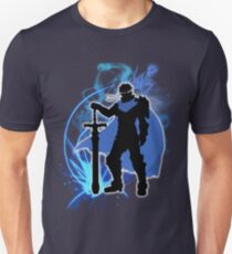 Super Smash Bros. Blue Ike Silhouette Unisex T-Shirt