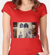 Parisian Mosaic - Piece 6 Women's Fitted Scoop T-Shirt