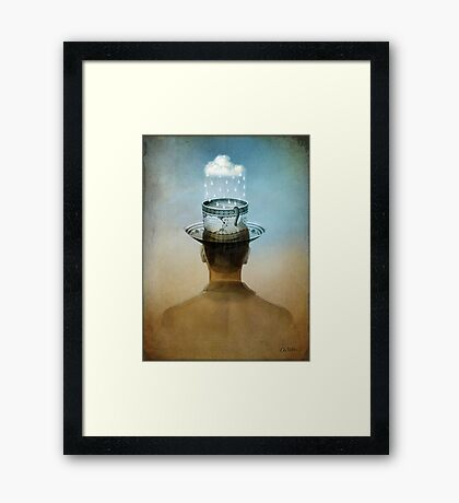 Fill up my cup Framed Print