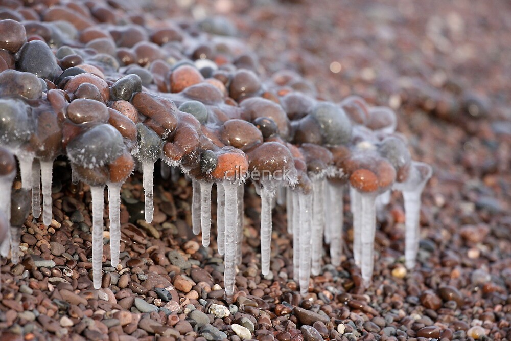 The Ice and Pebbles of Lake Superior by cjbenck