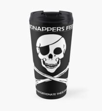 Pirate Kidnapping Travel Mug