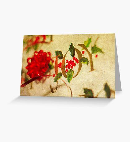Ribbon Joy Greeting Card