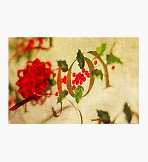 Ribbon Joy Photographic Print