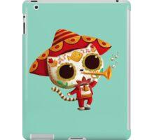 The Day of the Dead Cute Cat El Mariachi iPad Case/Skin