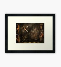 Steampunk - Check your pressure Framed Print