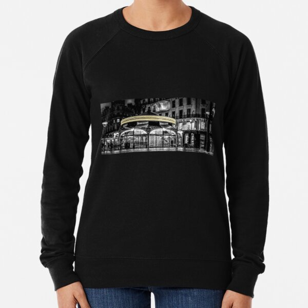 A long Exposure on a French Carousel Lightweight Sweatshirt