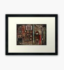 Steampunk - The Future  Framed Print
