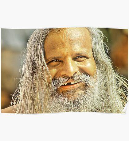 The monk in the Waari #1 Poster