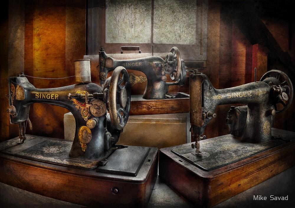 Sewing - A Chorus of Three by Michael Savad