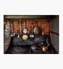 Chef - The gourmet chef  Photographic Print