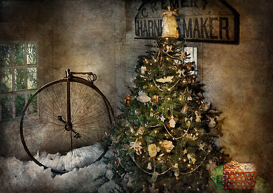 Bike - I wanna bike for Christmas  by Michael Savad