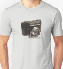 Film: not dead yet... Unisex T-Shirt