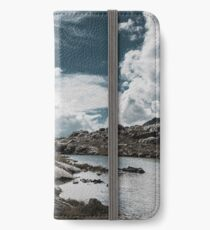 clouds in the mountains iPhone Wallet/Case/Skin