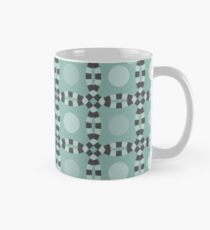 Linked - antique green and gray Classic Mug