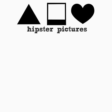 hipster SYMBOL tee by hipsterpictures