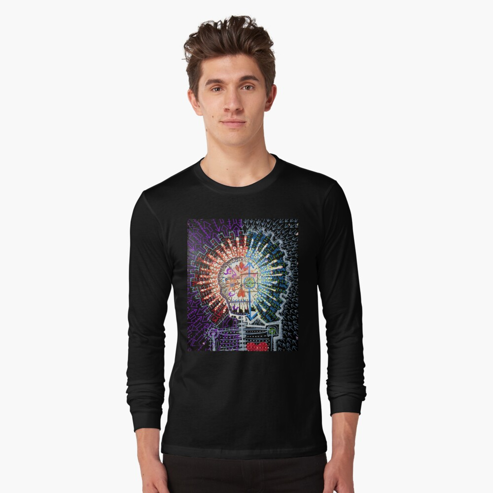 Always On The Edge Of Death, But All We Have Is Now Long Sleeve T-Shirt