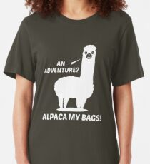 Alpaca My Bags Slim Fit T-Shirt