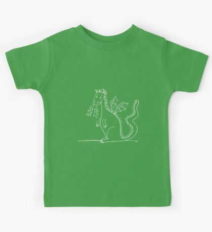 My Pet Dragon (white) Kids Clothes