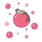 Baby mermaid by MiaMeaDesign
