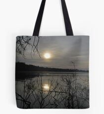 Misty Myall Morning  19-9-2010. Tote Bag