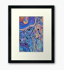All the Colours Framed Print