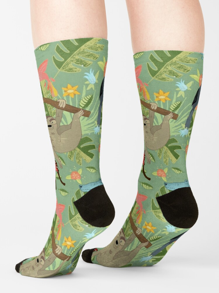 Alternate view of Jungle Adventure Socks