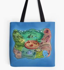 The Land Of Stories Tote Bag