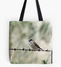 Plum-headed Finch Tote Bag