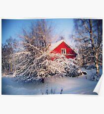 a swedish winter wonderland., Poster