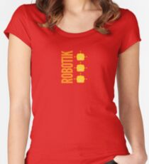 Robotik Women's Fitted Scoop T-Shirt