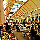 Auf dem Markt von heinrich