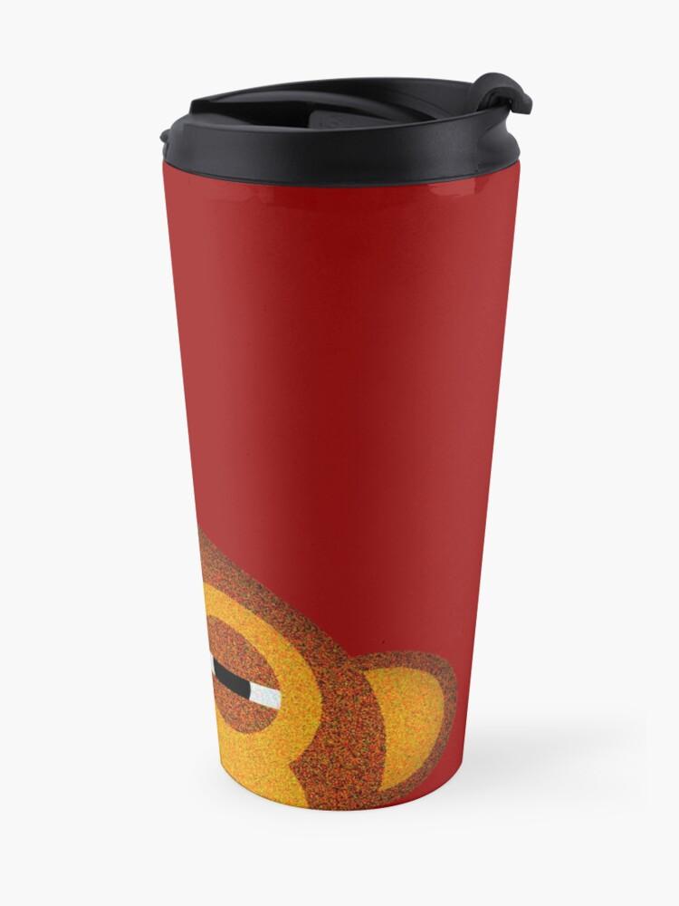 Alternate view of Pocket monkey is highly suspicious Travel Mug