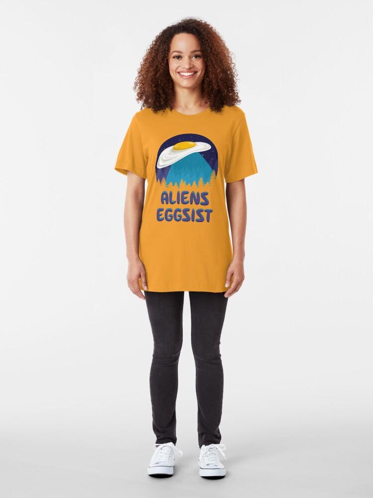 Alternate view of Aliens Eggsist Slim Fit T-Shirt