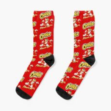 Cheetos Crunchy Flamin Hot Socks