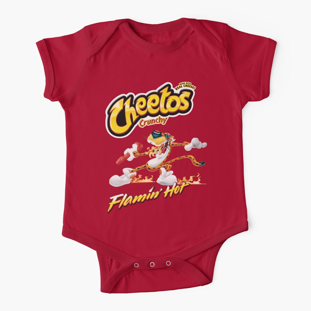 Cheetos Crunchy Flamin Hot Baby One-Piece