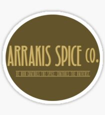 Dune - Arrakis Spice co. (version 2) Sticker