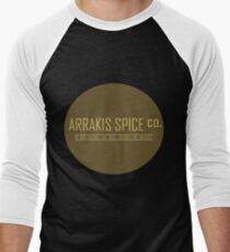 Dune Arrakis Spice Co. Men's Baseball ¾ T-Shirt