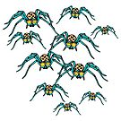 Spiders by MiaMeaDesign