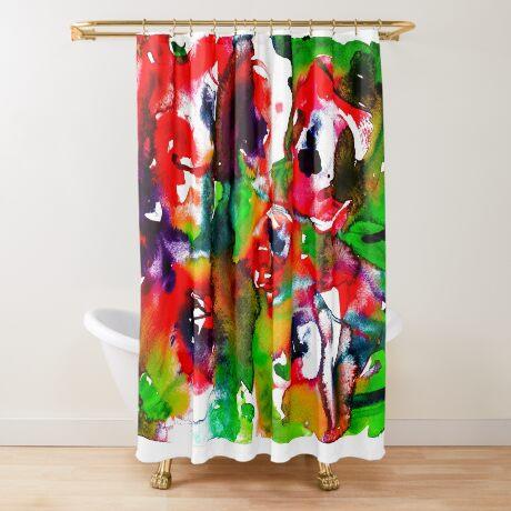 BAANTAL / Pollinate / Lust #2 Shower Curtain