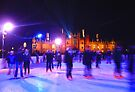 Skating - Hampton Court Palace  by Colin  Williams Photography