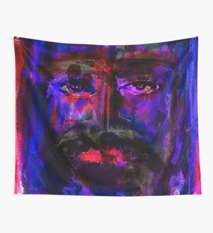 BAANTAL / Hominis / Faces #4 Wall Tapestry