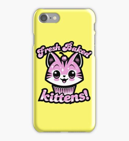 Fresh Baked Kittens  iPhone Case/Skin