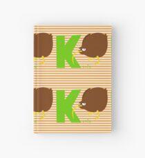 k for kiwi Hardcover Journal