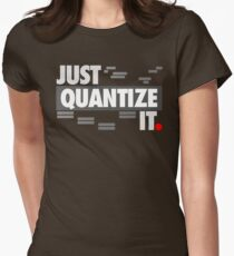 Just Quantize It Women's Fitted T-Shirt