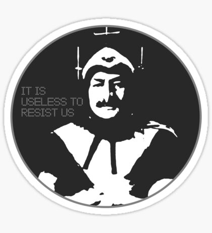 Phantom of Krankor: Useless to Resist Us Sticker