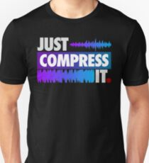 Just Compress It (Color Edition) Slim Fit T-Shirt
