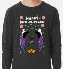 Licorice the Black Pug Lightweight Sweatshirt