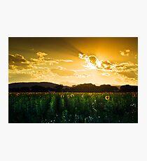 Longmont Summer Skies 2 Photographic Print