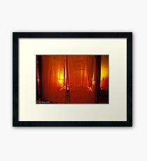 bedroom Framed Print
